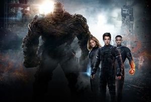 Textless 'Fantastic Four' Banner Shows How Big The Thing Rea