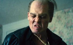 Johnny Depp as Irish mobster James Whitey Bulger