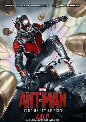 Heroes Don't Get Any Bigger - Ant-Man Bullet poster