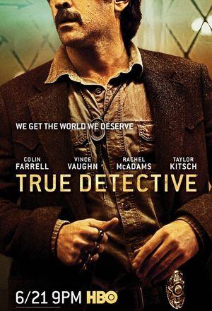 Colin Farrell True Detective Poster