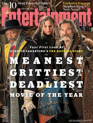 Entertainment Weekly cover takes first look at Quentin Tarantino's western The Hateful Eight