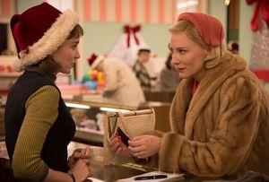 Rooney Mara and Cate Blanchett classy in Carol