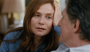 Gabriel Byrne and Isabelle Huppert in Louder Than Bombs