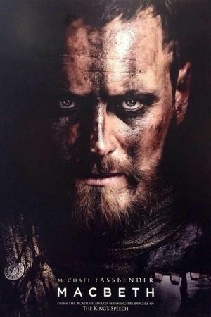 Michael Fassbender as Macbeth dark camouflage Poster