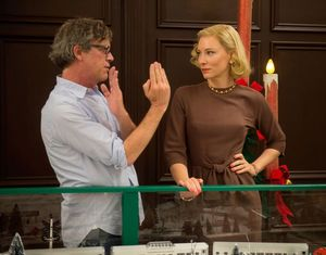 Todd Haynes directs Cate Blanchett in Carol