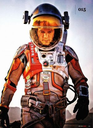 Matt Damon as astronaut Mark Watney in Ridley Scott's The