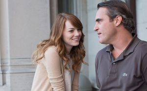 Emma Stone and Joaquin Phoenix star in Woody Allen's 'Irrati