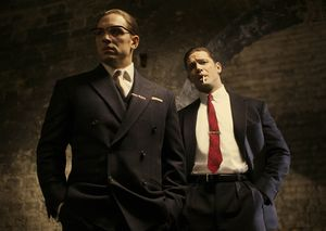 Tom Hardy and Tom Hardy star in Legend