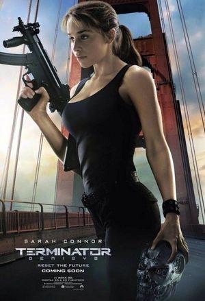 Emilia Clarke - Sarah Connor - Terminator: Genisys