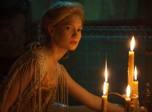 Mia Wasikowska and some candlelight, Crimson Peak