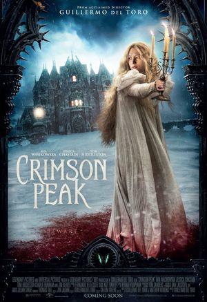 Mia Wasikowska Crimson Peak Poster