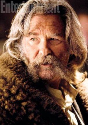 Kurt Russell as John Ruth in The Hateful Eight
