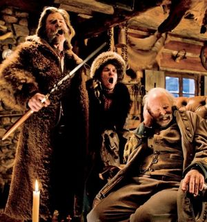 Kurt Russell sings in The Hateful Eight