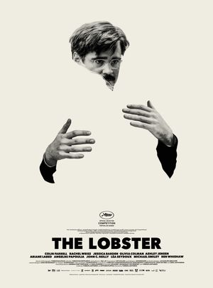 Colin Farrell The Lobster poster