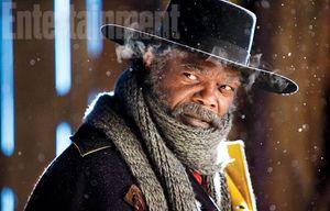 Samuel L. Jackson as Major Marquis Warren in The Hateful Eig