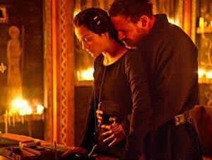 Marion Cotillard and Michael Fassbender together in Macbeth