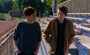 Jesse Eisenberg and Devin Druid star in Cannes film Louder T