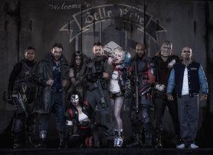 DC comics Suicide Squad cast overview