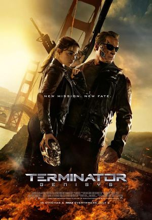 New Mission. New Fate. International Terminator: Genisys Pos