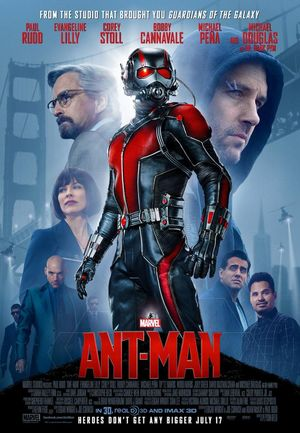 New Ant-Man Poster shows all characters