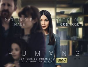 AMC artificial intelligence series Humans poster