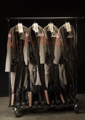 Ghostbusters Suits Revealed