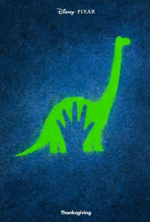 Teaser Poster for Disney-Pixar's 'The Good Dinosaur'