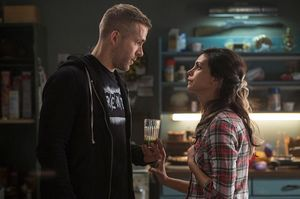 Ryan Reynolds and Morena Baccarin - Wade Wilson and Vanessa