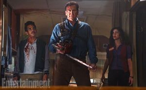 Bruce Campbell is Ready for Battle in First Image from 'Ash