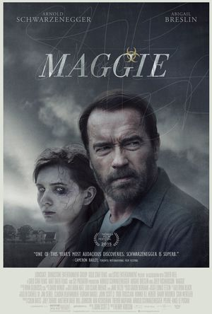 Maggie Poster with Arnold Schwarzenegger and Abigail Breslin