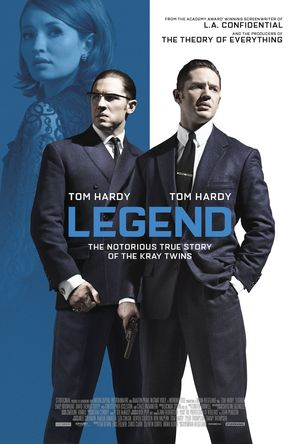 The Story of the Kray Twins in New 'Legend' Poster