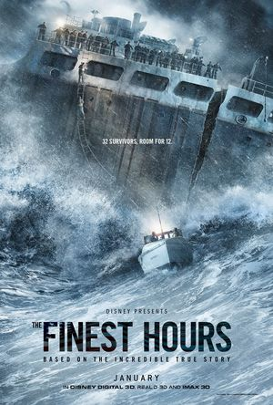 Poster for Chris Pine's 'The Finest Hours'