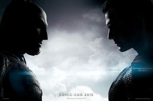 Batman v Superman Comic-Con Poster