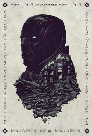 Oscar Isaac as Titular Villain in 'X-Men: Apocalypse' art
