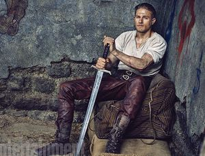 Charlie Hunnam as King Arthur in 'Knights of the Round Table