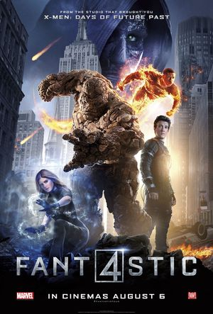 New UK Poster for 'Fantastic Four'