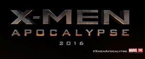 The Official 'X-Men: Apocalypse' logo as shown at Comic-Con