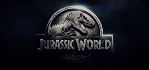 Jurassic World Logo Dark