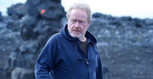 Ridley Scott directing Prometheus