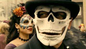 Creepy Masked Bond Spectre