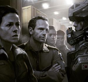 Neill Blomkamp posts new Alien 5 concept art with Ripley and