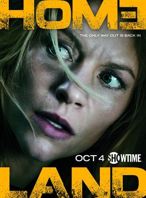 Homeland Season 5 returning Oct 4. The Only Way Out is Back