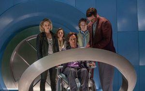 James McAvoy as Xavier in X-Men: Apocalypse