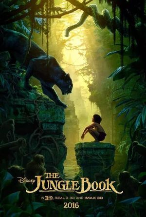 Official Poster for Disney's Jungle Book