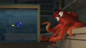 Hank the Octopus, voiced by Ed O'Neill