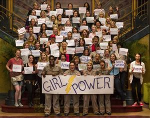 'Ghostbusters' Cast and Crew show off their Girl Power