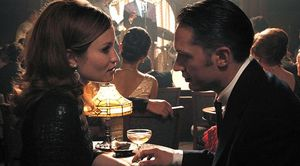 Tom Hardy and Emily Browning