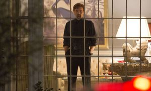 Joel Edgerton behind bars in The Gift