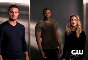 Oliver Queen, John Diggle, Felicity Smoak - Original Team Arrow