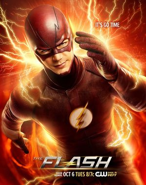 It's Go Time - The Flash Season 2 Poster